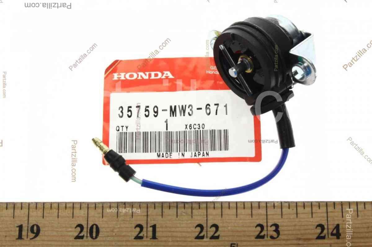 motokvartal com ua   Переключатель GEAR POSITION SWITCH (35759-MW3-671)  (192885)  Цена, купить Переключатель GEAR
