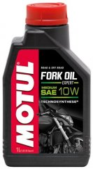 Масло Motul FORK OIL EXPERT MEDIUM SAE 10W 1л.