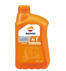 Масло REPSOL MOTO HIGH MILEAGE 4T 25W60 1л.