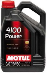 Масло Motul 4100 POWER SAE 15W50