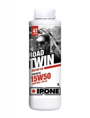 Масло IPONE ROAD TWIN cинтетическое 15W-50, 1л