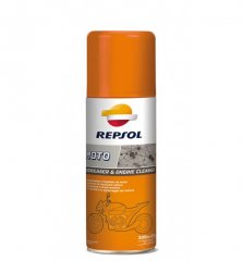 Средство REPSOL MOTO DEGREASER & ENGINE 400 ml