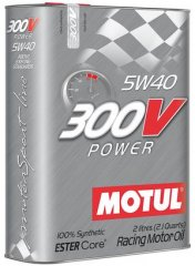 Масло Motul 300V POWER SAE 5W40