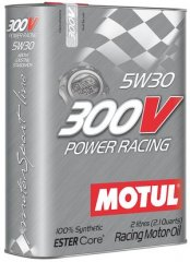 Масло Motul 300V POWER RACING SAE 5W30