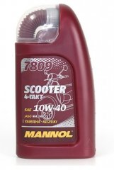 Масло MANNOL 4T SCOOTER 10W-40 1л.