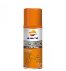 Средство REPSOL MOTO SILICONE SPRAY 400 ml