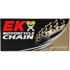 Цепь приводная EK Chain 525ZVX2 GG-116 Gold QX-Ring
